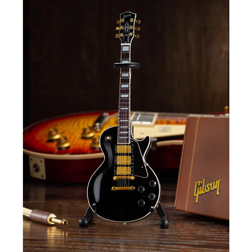 GIBSON ギブソン - Les Paul Custom Ebony / ミニチュア楽器