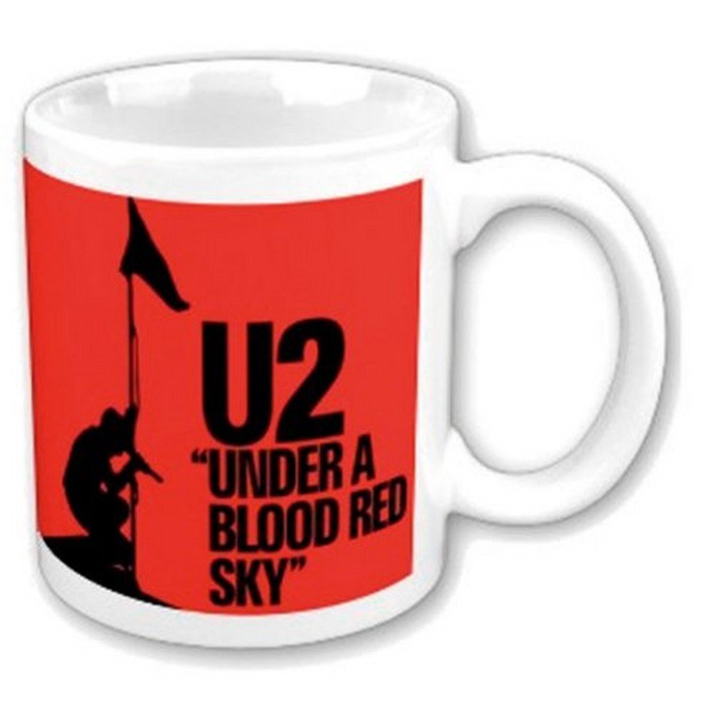 U2 ユーツー (結成45周年 ) - Under a Blood Red Sky / マグカップ