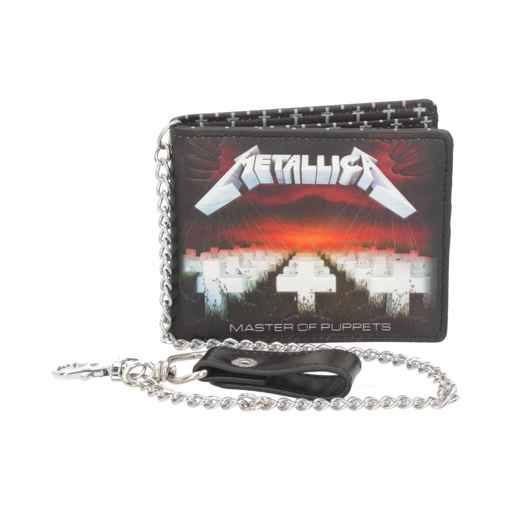 METALLICA メタリカ (結成40周年 ) - Master of Puppets チェーン付き / 財布