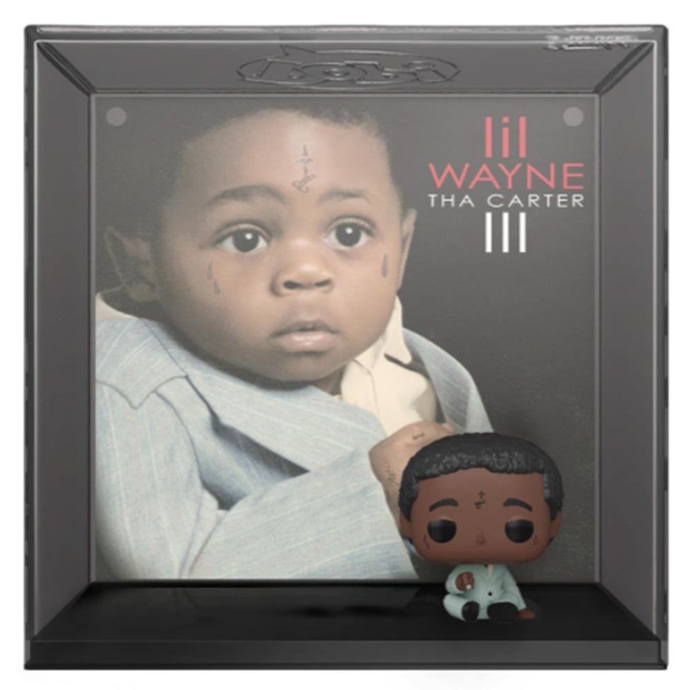【予約商品】 LIL' WAYNE リルウェイン - POP Albums:Tha Carter III(ディスプレイハードケース付き) / フィギュア・人形