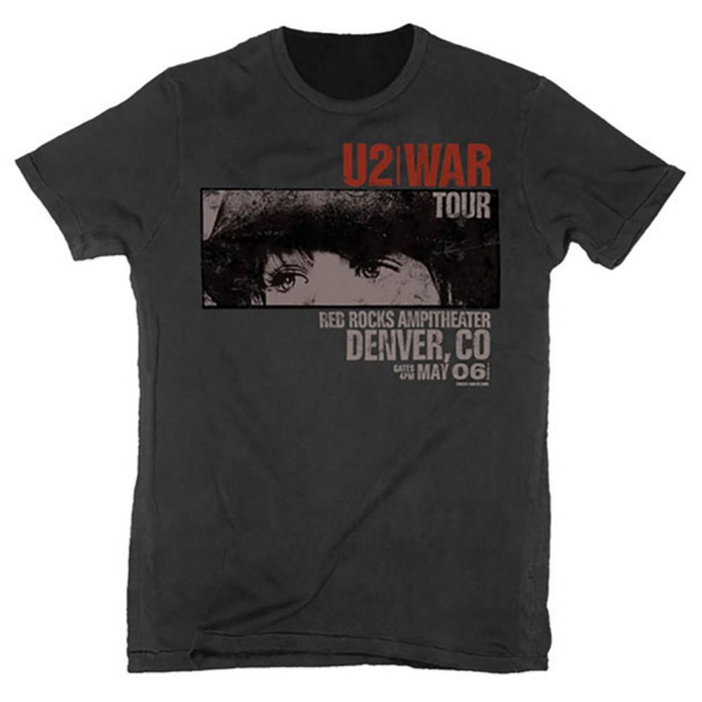 U2 ユーツー (結成45周年 ) - War Red Rocks / Tシャツ / メンズ