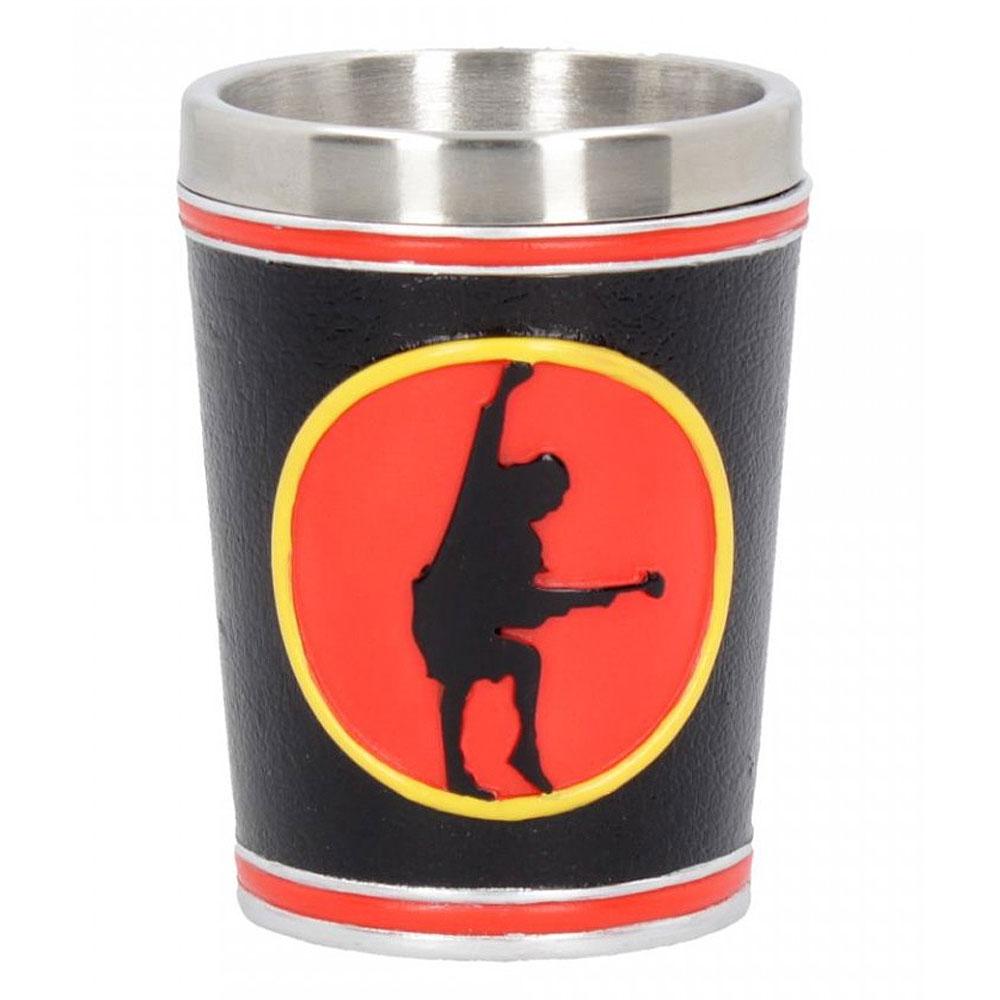 AC/DC エーシーディーシー (初来日40周年 ) -  High Voltage Rock and Roll / ショットグラス / 食器・グラス