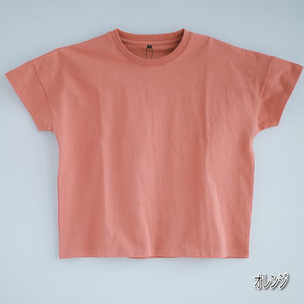 【値下げ品!!】レディース 無地ビッグシルエット半袖Tシャツ 婦人 オーバーサイズ シンプル 定番 綿100% おしゃれ ゆったり 体型カバー M〜5L 1個までメール便可
