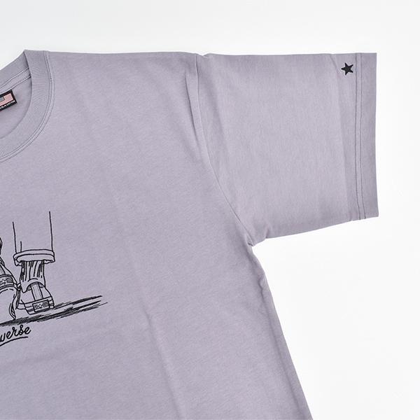 【値下げ品!!】メンズ CONVERSE Tシャツ 紳士 半袖 コンバース USAコットン 綿100% シンプル カジュアル おしゃれ 刺繍 プリント 1個までメール便可