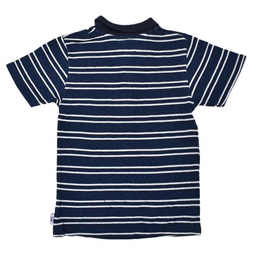 BuddyLeeボーダーポロシャツ 男の子/男児/キッズ/子供服/トップス/ポロシャツ/Lee