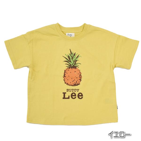 ◆期間限定30%ポイントUP◆Buddy Lee(バディリー) ベビー キッズ  フルーツデザイン 半袖Tシャツ 2点までメール便可 ショートスリーブ さくらんぼ パイナップル バナナ チェリー かわいい 春 夏 秋 子供用 赤ちゃん用 オ