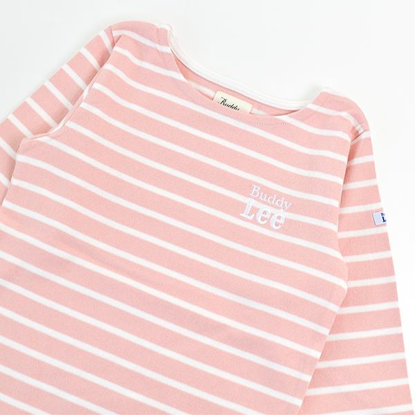 キッズ BuddyLee ボーダーTシャツ バディーリー コットン シンプル 長袖 男の子 女の子 100 110 120