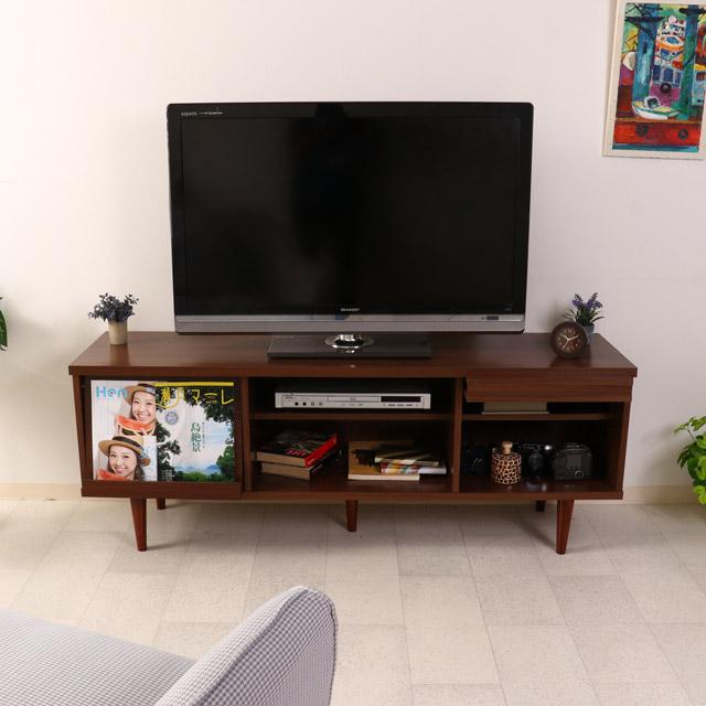 [送料無料]家具 アルト TVボード 150幅 DBR