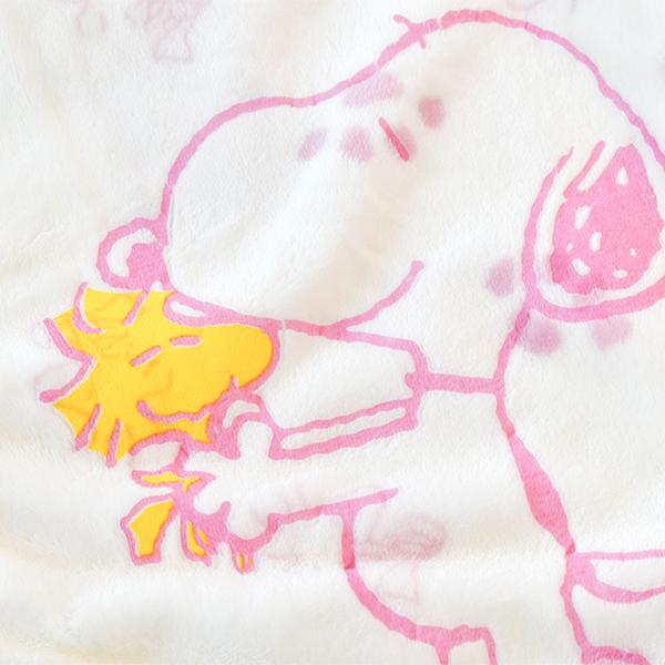 レディース 【スヌーピー】ふわもこ☆上下セット ルームウェア/パジャマ/部屋着/スヌーピー/SNOOPY/ボアフリース/かわいい/あったか