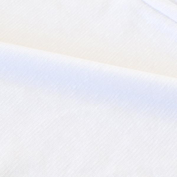 メンズ インナーシャツ 丸首  半袖 白 2枚セット 綿混素材 ラウンドネック