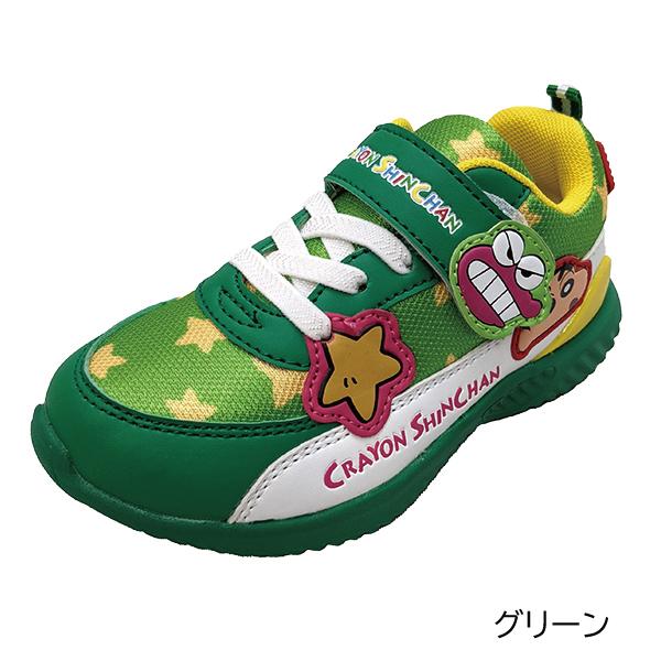 キッズ クレヨンしんちゃん スニーカー 靴 子ども 男の子 男児 保育園 幼稚園 運動靴 入園 入学 進級 お祝い プレゼント ギフト