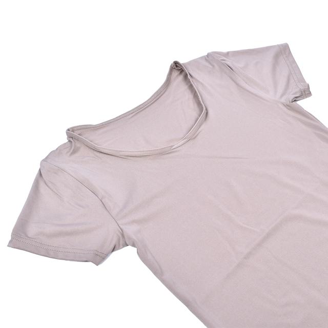 【2枚セット】レディース キュプラ混さらさらストレッチインナー フレンチ袖-PHコレクション[婦人/女性/肌着/下着/接触冷感/DRY/ドライ/部屋干し対策]