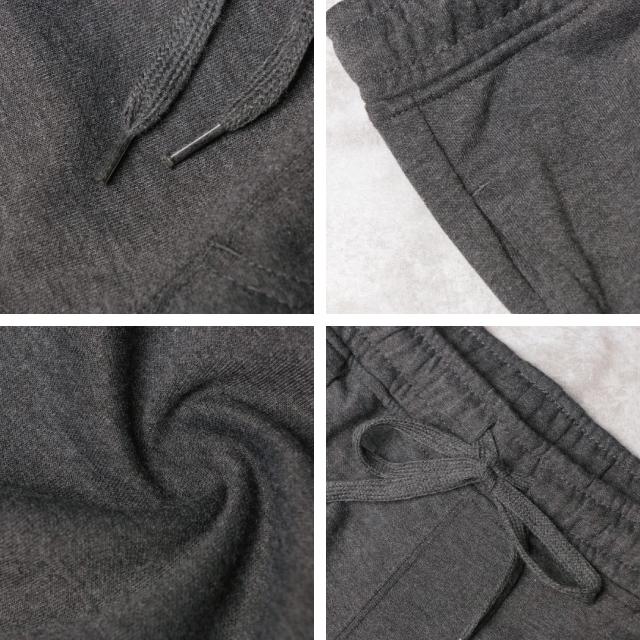 紳士スエットポンチリブ使いジョガーパンツ[メンズ/スエット/男性用/ポンチ/パンツ/ジョガーパンツ]