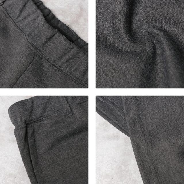 紳士スエットポンチ リブ使いテーパードパンツ [メンズ/ポンチ/スエット/男性用/部屋着/ジョガー/リブ]