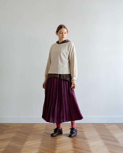 オリジナルギンガムギャザースカート 21057010