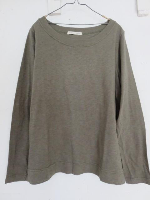 ラフコットテンジクワイドネックTシャツ 730689