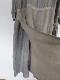 ベルギーリネンストライプワークワンピース 21127007