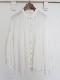 ベルギーリネンギャザーシャツ 19107012A