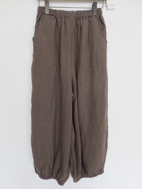 リネンバルーンパンツ 20043007