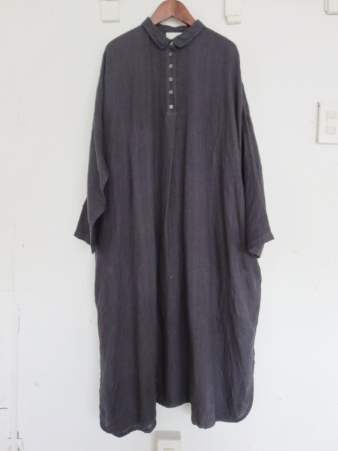 オリジナルヘリンボーンシャツワンピース 21107009