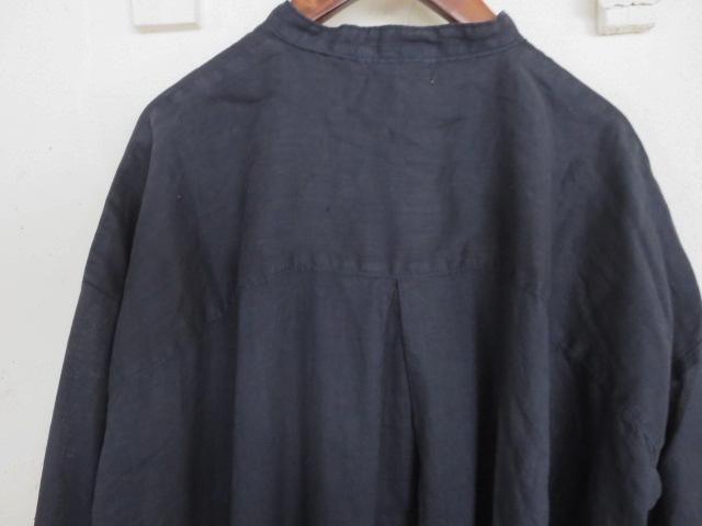 ベルギーリネンBIGシャツ 21057017