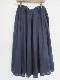 ベルギーリネンギャザースカート 21057018