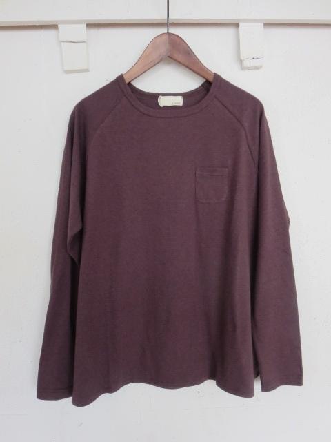 ベルギーリネンポケットTシャツ 21053007