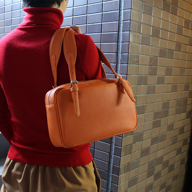 時経て輝きを増し、人生を豊かに彩るハンドバッグ WW798 (ワープロラックスカーフ)(セミショルダー)