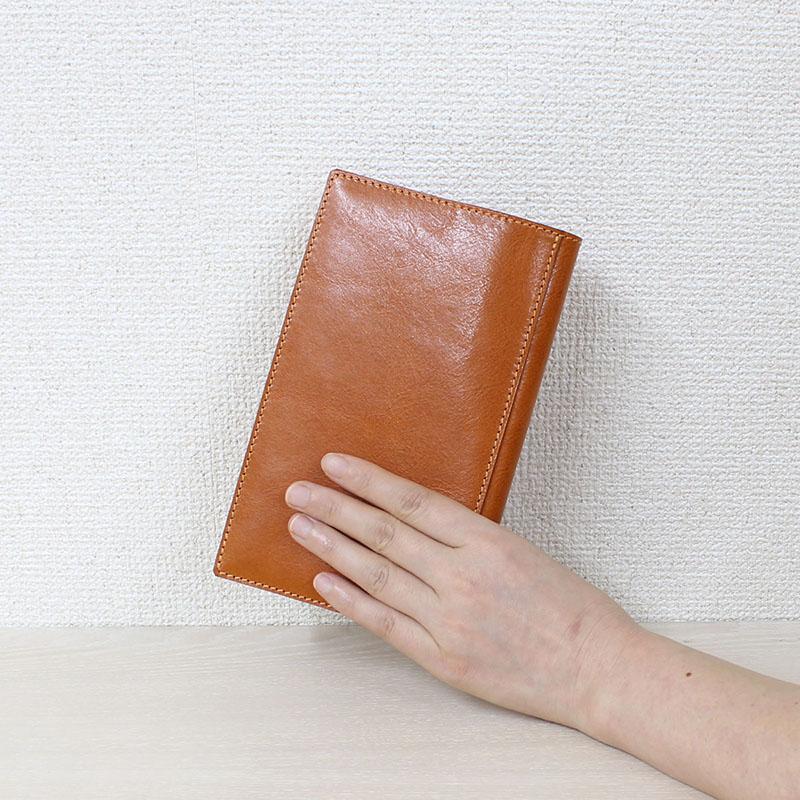 高級本革の新書判ブックカバー(栞無しモデル) A-0026NL
