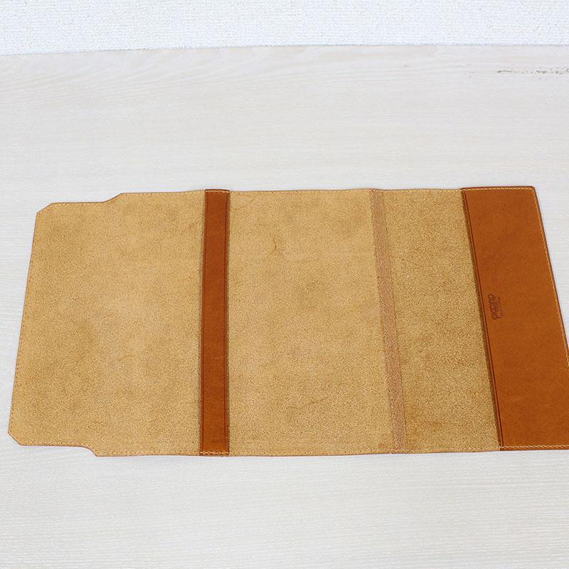 高級本革の四六判ブックカバー(栞無しモデル) A-0015NL