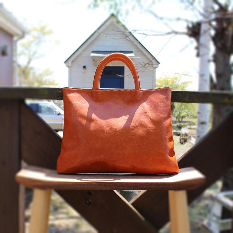 ちょい持ちバッグのA4らくらくモデル NL745 (イタリアンレザー)