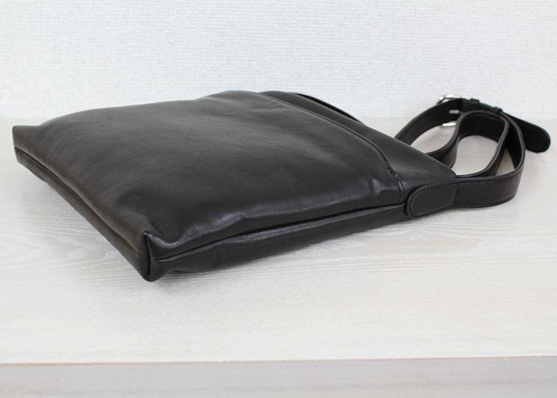 コンパクトなショルダーバッグ A-817S (ポニー調ソフトレザー)(姫路レザー)