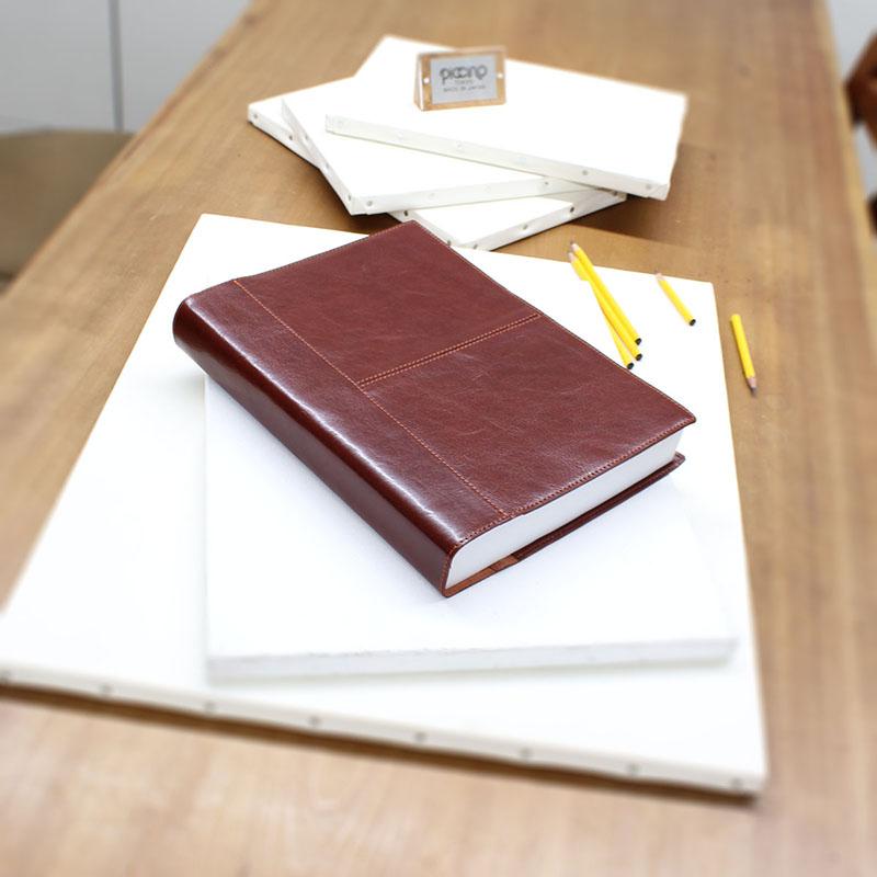 日本一厚いノートとその本革カバー A-84NL (イタリアンレザー)(A4判)