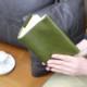 高級本革のトールサイズ文庫判ブックカバー(栞無しモデル) A-0004NL