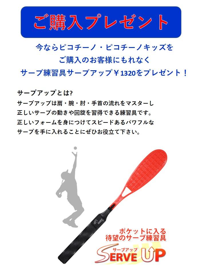 テニス練習機ピコチーノキッズ・送料無料《砂袋に砂入り・サーブアップ1個プレゼント》
