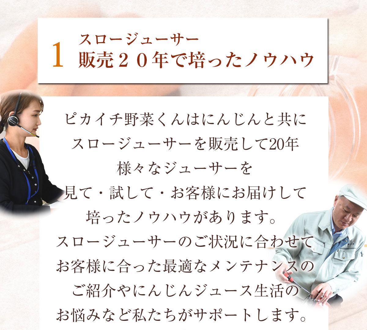 スロージューサー専用メンテナンスチケット【選べる3コース(シルバー、ゴールド、プラチナ)】