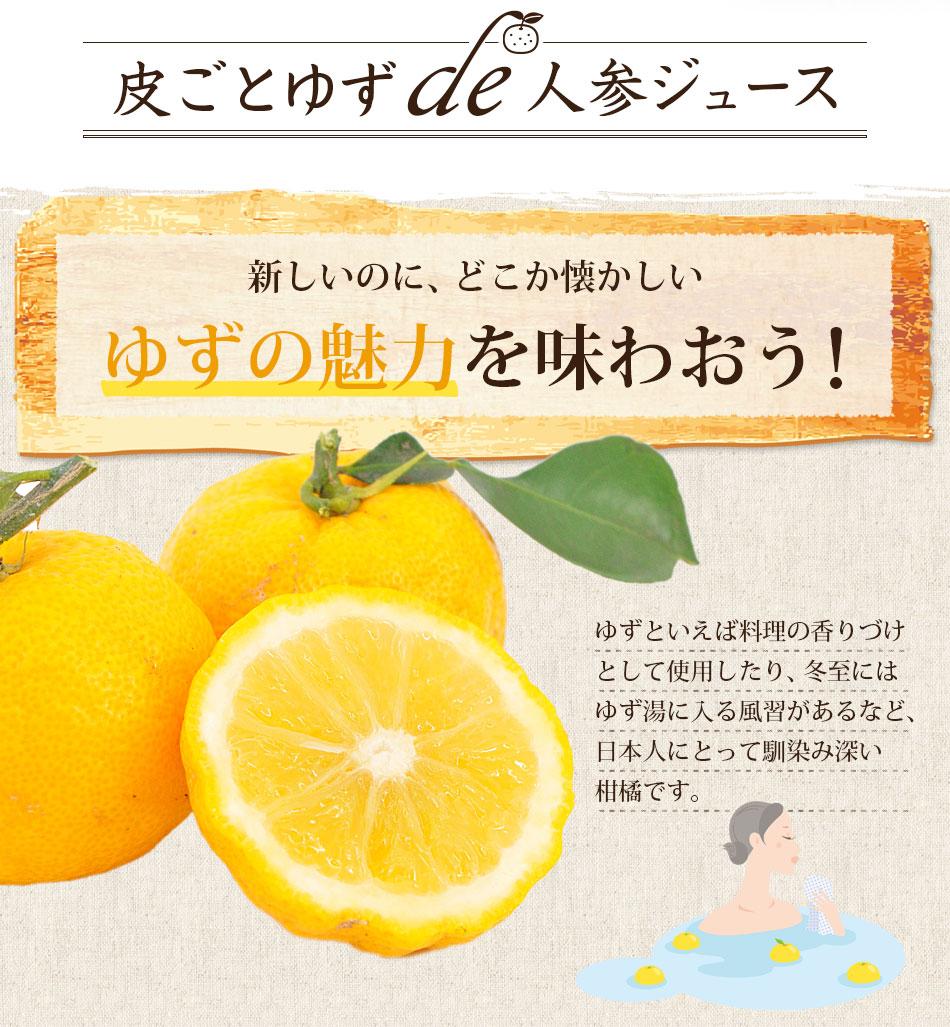 皮ごとゆずde人参ジュース 4箱(100cc×120パック) 【冷凍ジュース】【にんじんジュース】【送料無料】