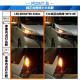 【即納】【メール便可】ニッサン セレナ e-POWER[C27系 前期]対応 ウインカーランプ(フロント・リア)用LED PHILIPS LUMILEDS製LED搭載 T20s LED MONSTER 430lm ウェッジシングル ピンチ部違い対応 LEDカラー:アンバー 無極性 1セット2個入