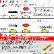 【即納】【メール便可】S25d[BAY15d] 極-KIWAMI-(きわみ) 130lm ダブル口金球 段違いピン/ピン角180° LEDカラー:レッド 1セット2個入