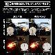 【即納】【メール便可】T20s LED MAGNUM 600lm ウインカーランプ用 ウェッジシングル ピンチ部違い対応 LEDカラー:アンバー 無極性 1セット2個入