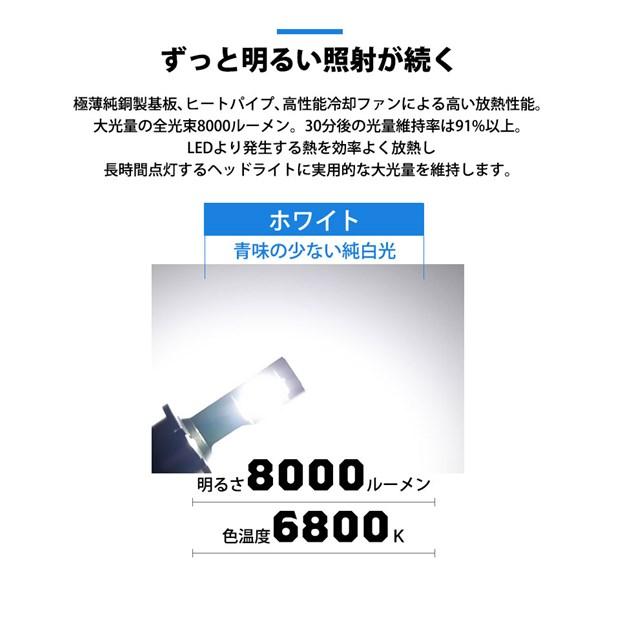☆単☆【9%OFF!】LED MONSTER L8000 ホワイト LEDヘッドライトキット バルブ規格:D2R/D2S共通、D4R/D4S共通