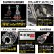 【即納】レクサス GS350[GRS190系 前期]対応 フォグランプ用LED SCOPE EYE L3400 LEDフォグキット LEDカラー:イエロー3000K バルブ規格:HB4