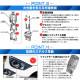 【ピカキュウの日】【メール便可】ホンダ ステップワゴンスパーダ[RP1/2/3/4 前期]対応 ウインカーランプ(フロント・リア)用LED PHILIPS LUMILEDS製LED搭載 T20s LED MONSTER 430lm ウェッジシングル ピンチ部違い対応 LEDカラー:アンバー 無極性 1セット2個入
