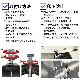 【即納】ステンレスSUS304 汎用マフラーカッター φ100 真円 インナーメッシュ 曲げ角度30度