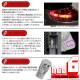【9%OFF!】【メール便可】トヨタ ハリアー[60系 後期]対応 カーテシランプ用LED T10 HYPER NEO 6ウェッジシングル LEDカラー:ミラノレッド 無極性 1セット2個入
