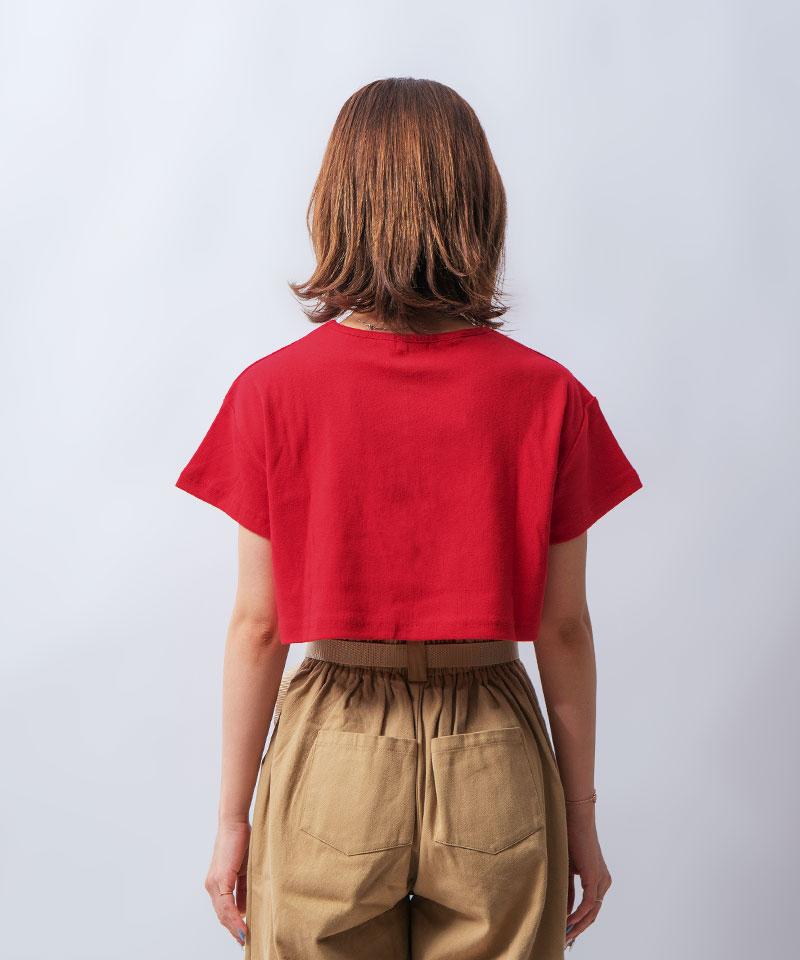 ショート丈ミニTシャツ