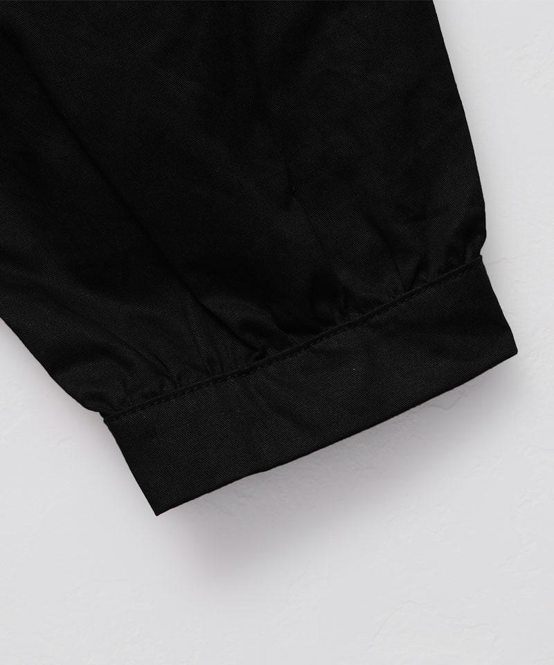 ペプラムシャツジャケット