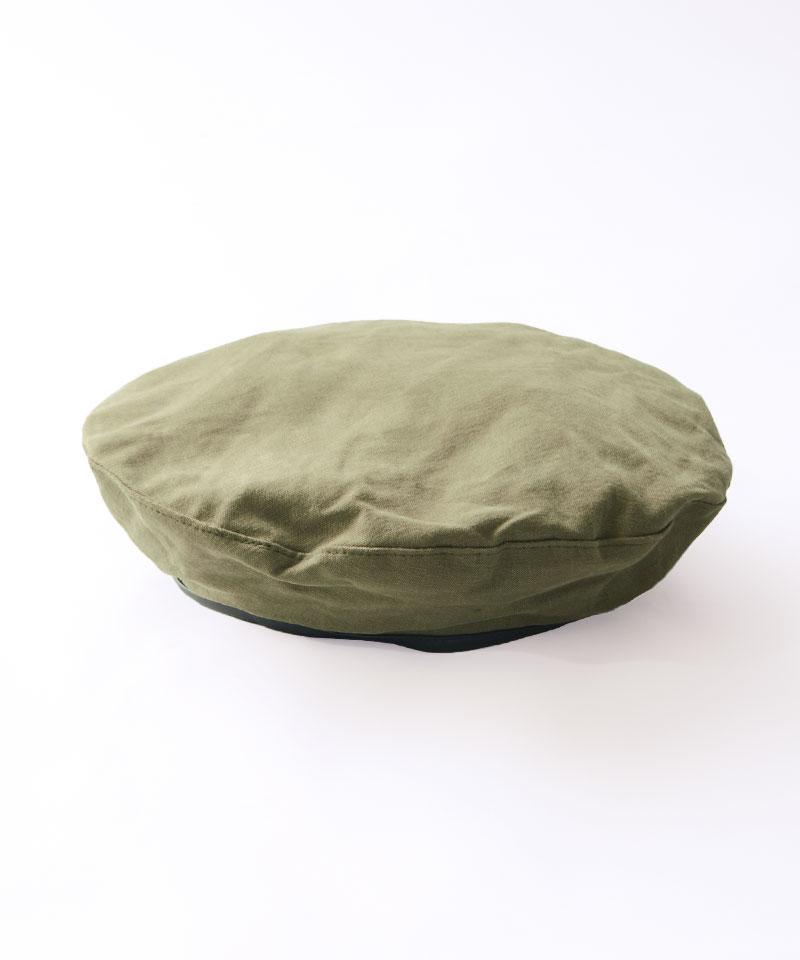 PUパイピングベレー帽