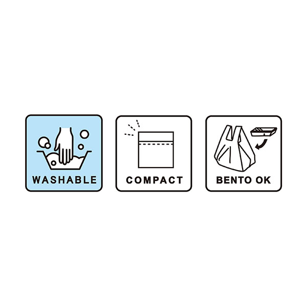 洗えるエコバッグ<br>「ECOFRIE -minimal- <br>(エコフレ ミニマル)」