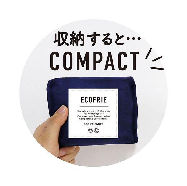 洗えるエコバッグ<br>「ECOFRIE -POKE+-<br> (エコフレ ポケプラス)」